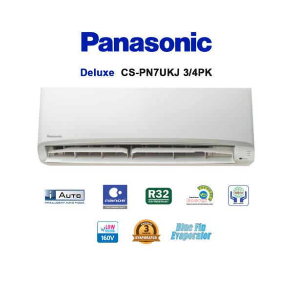 AC Panasonic Deluxe 3/4PK CS-PN7UKJ